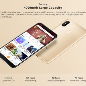 Xiaomi Mi A2 Lite Smartphone Snapdragon 625 Android 8,1 Touch ID - crna - image Global-Version-Xiaomi-Mi-A2-Lite-5-84-Inch-4GB-64GB-Smartphone-Gold-20180721160132100-300x300 on https://smartmall.hr