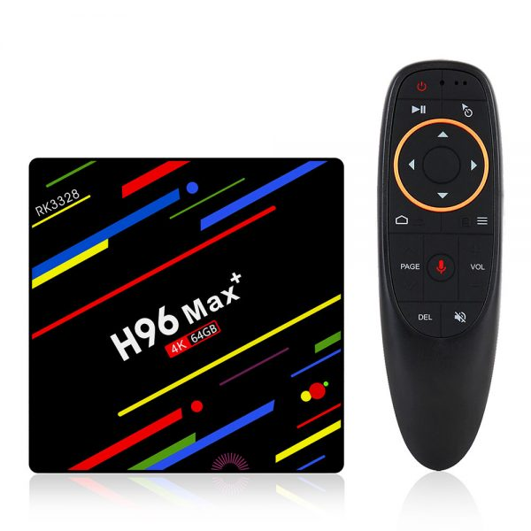 H96 MAX + Android 8.1 RK3328 KODI 17.6 4 GB / 64 GB 4K TV BOX - image H96-MAX-Android-8-1-RK3328-4GB-64GB-TV-BOX-716009--600x600 on https://smartmall.hr