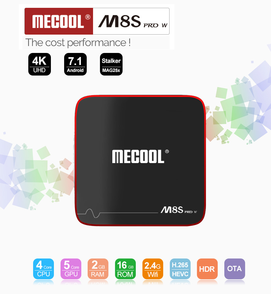 MECOOL M8S PRO W TV Box 2GB / 16GB  TV BOX WIFI LAN HDTV - image MECOOL-M8S-PRO-W-Android-7-1-S905W-2GB-16GB-TV-Box-20171207182708443 on https://smartmall.hr