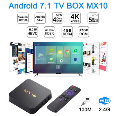 MX 10 Android TV box - image MX10-Android-81-TV-BOX-Quad-Core-USB on https://smartmall.hr