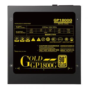 Segotep GP1800G 1700W izvor napajanja strujanja s ventilatorom od 14 cm - crna boja - image Segotep-GP1800G-1700W-Power-Supply-523095--300x300 on https://smartmall.hr