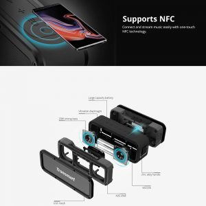 Tronsmart Element Force 40W Bluetooth zvučnik IPX7 Otporan na vodu TWS & NFC Deep Bass 15 sati Playtime - image Tronsmart-Element-Force-Portable-Bluetooth-Speaker-20190131163949319-300x300 on https://smartmall.hr