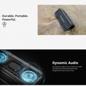 Tronsmart Element T6 Plus - Vodootporni bluetooth zvučnik | Moćni bass | 40 W - image Tronsmart-Element-Force-Portable-Bluetooth-Speaker-20190131164259471-300x300 on https://smartmall.hr