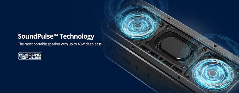 Tronsmart Element Force 40W - Bluetooth zvučnik IPX7 | Vodootporan | TWS & NFC Deep Bass | - image Tronsmart-Element-Force-Portable-Bluetooth-Speaker-20190131164306235 on https://smartmall.hr