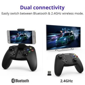 Tronsmart Mars G02 bežični kontroler igre s Bluetooth i 2.4GHz modovima za Android Windows PlayStation 3 - image Tronsmart-Mars-G02-Wireless-Game-Controller-468807--300x300 on https://smartmall.hr