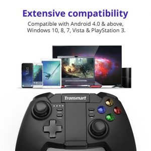 Tronsmart Mars G02 bežični kontroler igre s Bluetooth i 2.4GHz modovima za Android Windows PlayStation 3 - image Tronsmart-Mars-G02-Wireless-Game-Controller-468808--300x300 on https://smartmall.hr