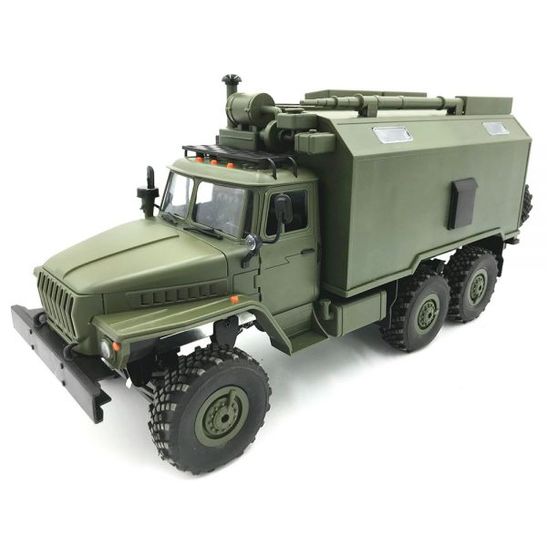 ROBOT WPL B36 Ural 2.4G 1:16 6WD Off-road RC Car Rock vojni kamion - zelena - image WPL-B36-Ural-RC-Rock-Crawler-Military-Truck-Army-Green-734011--600x600 on https://smartmall.hr