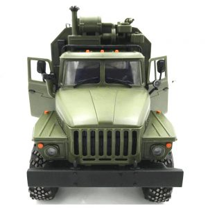 ROBOT WPL B36 Ural 2.4G 1:16 6WD Off-road RC Car Rock vojni kamion - zelena - image WPL-B36-Ural-RC-Rock-Crawler-Military-Truck-Army-Green-734013--300x300 on https://smartmall.hr