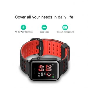 Xiaomi WeLoop Hej 3S 1,28  memorije LCD sportski Smart Watch 50 metara otpora vode Bluetooth 4.0 - crvena - image WeLoop-Hey-S3-Sports-Smart-Watch-20170929184505436-300x300 on https://smartmall.hr