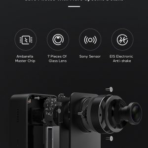 Xiaomi Mijia 4K Ambarella A12S75 Sony IMX317 2,4 - crna - image Xiaomi-Camera-Mijia-4K-Action-Camera-20170824175000574-300x300 on https://smartmall.hr
