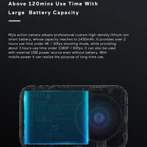 Xiaomi Mijia 4K Ambarella A12S75 Sony IMX317 2,4 - crna - image Xiaomi-Camera-Mijia-4K-Action-Camera-20170824175030872-300x300 on https://smartmall.hr