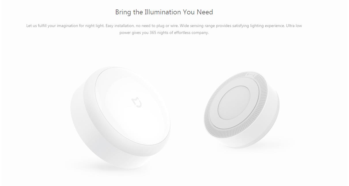 Xiaomi Mijia Inteligentna noćna svjetiljka PIR senzor pokreta - image Xiaomi-Mijia-Smart-Night-Light-White-20170819100451486 on https://smartmall.hr