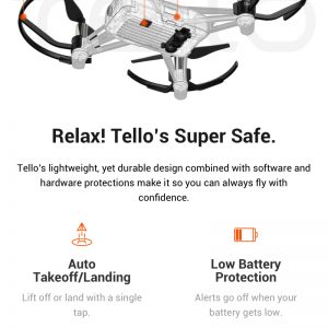DJI Tello 720P WIFI FPV RC Dron s 5MP HD kamerom Intel - image a69d177a-7819-4b2e-a6d4-7445724fb454-300x300 on https://smartmall.hr