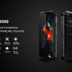Blackview BV9500 5,7  4G LTE Smartphone Helio P23 4GB 64GB 16,0MP - crna - image geekbuying-Blackview-BV9500-5-7-Inch-4GB-64GB-Smartphone-Black-580353--300x300 on https://smartmall.hr