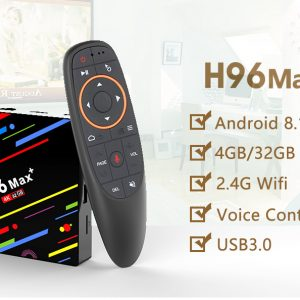 TV BOX H96 MAX + Android 8.1 RK3328 KODI 17.6 4 GB / 32 GB 4K - image geekbuying-H96-MAX-Android-8-1-RK3328-4GB-32GB-TV-BOX-605632--300x300 on https://smartmall.hr