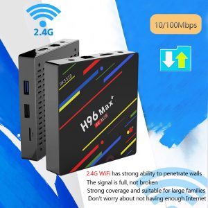 TV BOX H96 MAX + Android 8.1 RK3328 KODI 17.6 4 GB / 32 GB 4K - image geekbuying-H96-MAX-Android-8-1-RK3328-4GB-32GB-TV-BOX-605662--300x300 on https://smartmall.hr