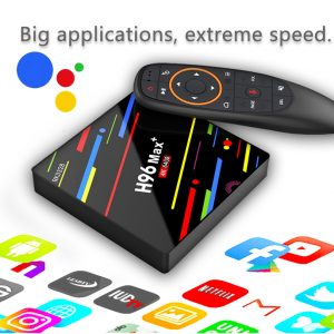 H96 MAX + Android 8.1 RK3328 KODI 17.6 4 GB / 64 GB 4K TV BOX - image geekbuying-H96-MAX-Android-8-1-RK3328-4GB-64GB-TV-BOX-605782--300x300 on https://smartmall.hr