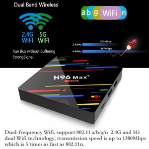 H96 MAX + Android 8.1 RK3328 KODI 17.6 4 GB / 64 GB 4K TV BOX - image geekbuying-H96-MAX-Android-8-1-RK3328-4GB-64GB-TV-BOX-605785--300x300 on https://smartmall.hr