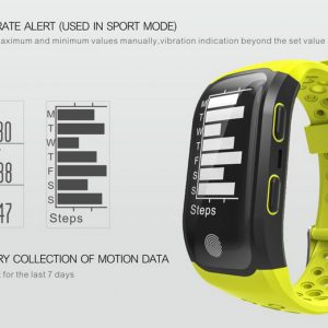 Makibes G03 Smart ručni sat IP68  Sport Tracker GPS Heart Rate Monitor Fitness Narukvica - image geekbuying-Makibes-G03-Smart-Bracelet-Black-422126--300x300 on https://smartmall.hr