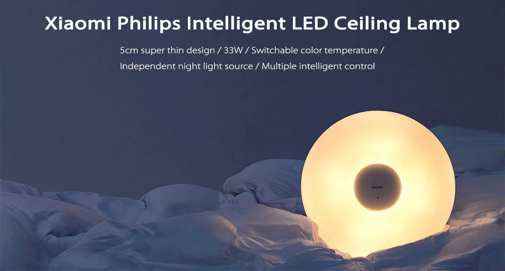 Xiaomi Philips LED stropna svjetiljka s daljinskim upravljačem -White - image geekbuying-Oringinal-Xiaomi-Philips-LED-Ceiling-Lamp-White-421722- on https://smartmall.hr