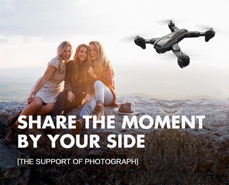 Dron VISUO XS812 GPS 5G WiFi 5MP FPV RC Quadcopter sklopivi - image geekbuying-VISUO-XS812-GPS-5G-WiFi-5MP-FPV-Foldable-RC-Drone-RTF-Two-Battery-633345- on https://smartmall.hr