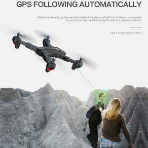 Dron VISUO XS812 GPS 5G WiFi 5MP FPV RC Quadcopter sklopivi - image geekbuying-VISUO-XS812-GPS-5G-WiFi-5MP-FPV-Foldable-RC-Drone-RTF-Two-Battery-633353--300x300 on https://smartmall.hr