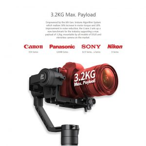 ZHIYUN Crane 2 ručni stabilizator kamere - crni - image geekbuying-ZHIYUN-Crane-2-3-Axis-Brushless-Handheld-Stabilizer-Black-456225--300x300 on https://smartmall.hr