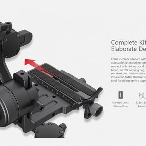 ZHIYUN Crane 2 ručni stabilizator kamere - crni - image geekbuying-ZHIYUN-Crane-2-3-Axis-Brushless-Handheld-Stabilizer-Black-456230--300x300 on https://smartmall.hr