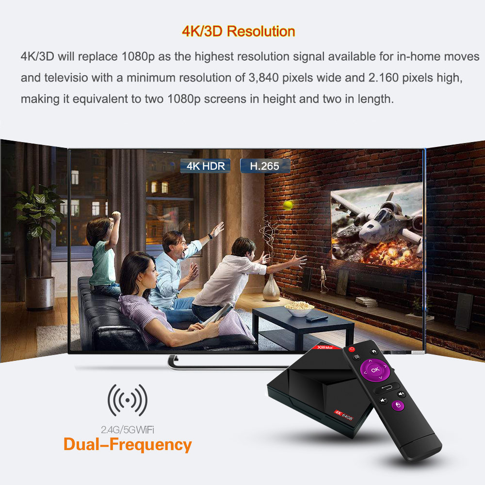 TV BOX X88 MAX + Android 9.0 4GB / 64GB RK3328 4K - image 64e93db1-2919-4449-ba13-60f79d7a0e76 on https://smartmall.hr