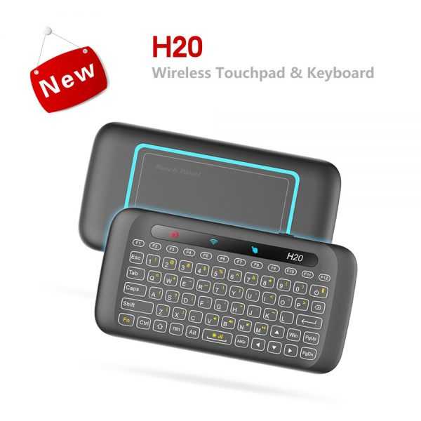 H20 Touchpad Mini 2.4G bežična tipkovnica za TV Box / Pad / Laptop / PC - crna - image H20-White-Backlight-Full-Screen-Touchpad-2-4G-Wireless-Keyboard-578267--600x600 on https://smartmall.hr