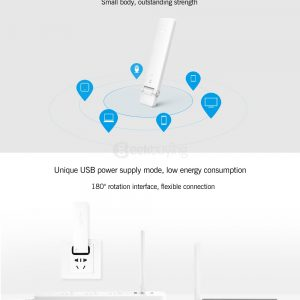 Xiaomi Mi WiFi pojačalo 2 300Mbps  Mijia Smart App - image Original-Xiaomi-Mi-WiFi-Amplifier-2-White-20161228180924649-300x300 on https://smartmall.hr