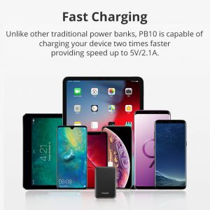 Tronsmart PB10 10000mAh Mini Baterijska banka s LED zaslonom za iPhone i sl. uređaje - image Tronsmart-PB10-Power-Bank-790563--300x300 on https://smartmall.hr