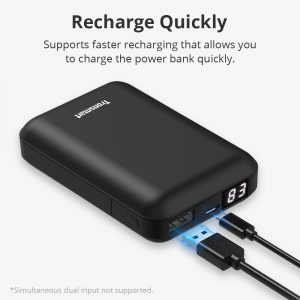Tronsmart PB10 10000mAh Mini Baterijska banka s LED zaslonom za iPhone i sl. uređaje - image Tronsmart-PB10-Power-Bank-790564--300x300 on https://smartmall.hr