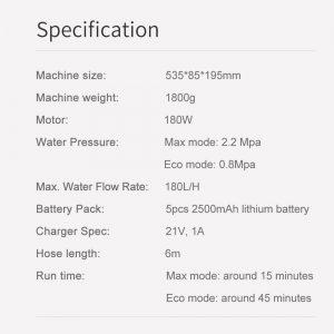 Kuhalo za vodu Xiaomi Mijia 304 1,5 l - bijela - image Xiaomi-JIMMY-JW31-Cordless-Pressure-Washer-Black-20190103105639193-300x300 on https://smartmall.hr