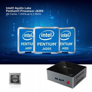 Beelink J45 Intel Apollo Lake Pentium J4205 8GB DDR4 256GB mSATA SSD Windows 10 Mini PC Dual Band WiFi Gigabit LAN USB USB3.0 * 4 HDMI * 2 2,5-inčni HDD - image geekbuying-Beelink-J45-Intel-J4205-8GB-256GB-Windows-10-Mini-PC-732053--300x300 on https://smartmall.hr
