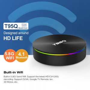 TV BOX T95Q Amlogic S905X2 Android 8.1 4GB DDR4 64GB - image geekbuying-T95Q-Amlogic-S905X2-Android-8-1-4GB-64GB-TV-Box-666185--300x300 on https://smartmall.hr