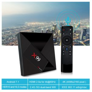 TV BOX X99 RK3399 4GB / 64GB Android 7.1 KODI 18.0 4K Bluetooth USB3.0 VP9 H.265 - image geekbuying-X99-RK3399-4GB-64GB-Android-7-1-TV-Box-663819--300x300 on https://smartmall.hr