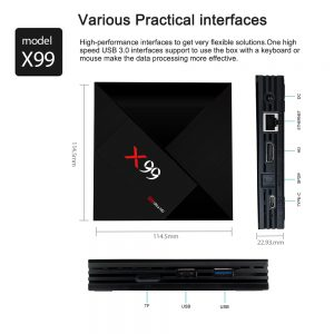 TV BOX X99 RK3399 4GB / 64GB Android 7.1 KODI 18.0 4K Bluetooth USB3.0 VP9 H.265 - image geekbuying-X99-RK3399-4GB-64GB-Android-7-1-TV-Box-663825--300x300 on https://smartmall.hr