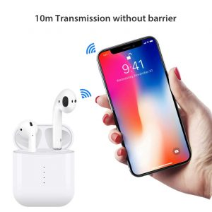 i10 TWS Bluetooth 5.0 TWS slušalice Bežićno punjenje 4 sata Radno vrijeme Stereo zvuk - bijela boja - image i10-TWS-Bluetooth-Binaural-Earbuds-White-20190102155831548-300x300 on https://smartmall.hr
