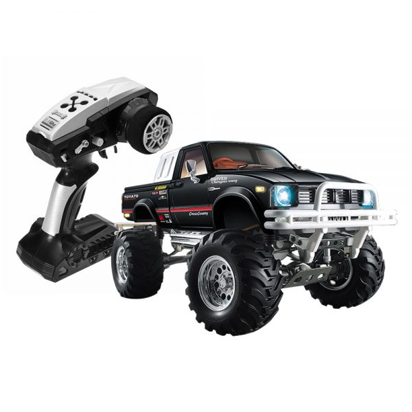 HG P407 2.4G 1:10 4WD Rally auto za TOYATO Pickup Truck RTR - crna - image HG-P407-Off-road-RC-Climbing-Car-OYATO-Pickup-Truck-RTR-Black-713309--600x600 on https://smartmall.hr