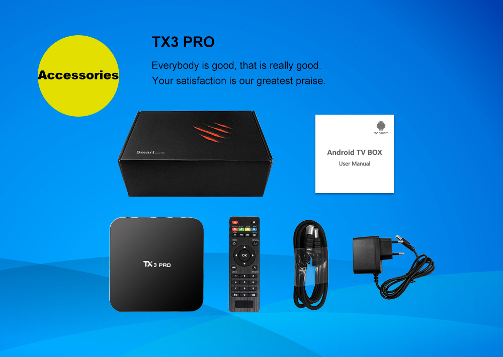 TANIX TX3 PRO Android 7.1 KODI 17.3 Amlogic S905W 1GB / 8GB tv media - image fd11c1f4-0d63-4860-bf1b-b46d9dc630ee on https://smartmall.hr