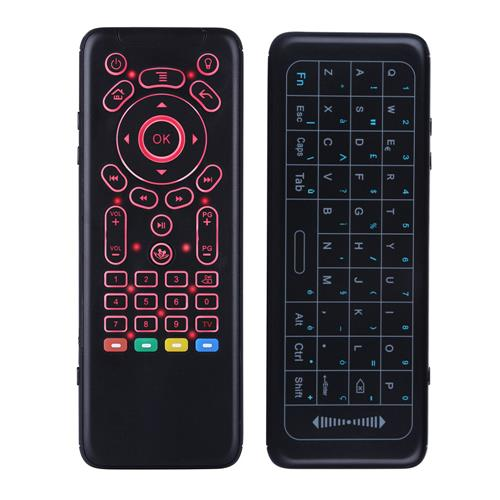 iPazzPort KP62 Talijanski Full Touchpad 7 Boja Pozadinsko svjetlo Tipkovnica 6-osovinski Air Mouse Combo Podrška za Windows / Android / iOS - image 2018061401756411j7qykfb on https://smartmall.hr