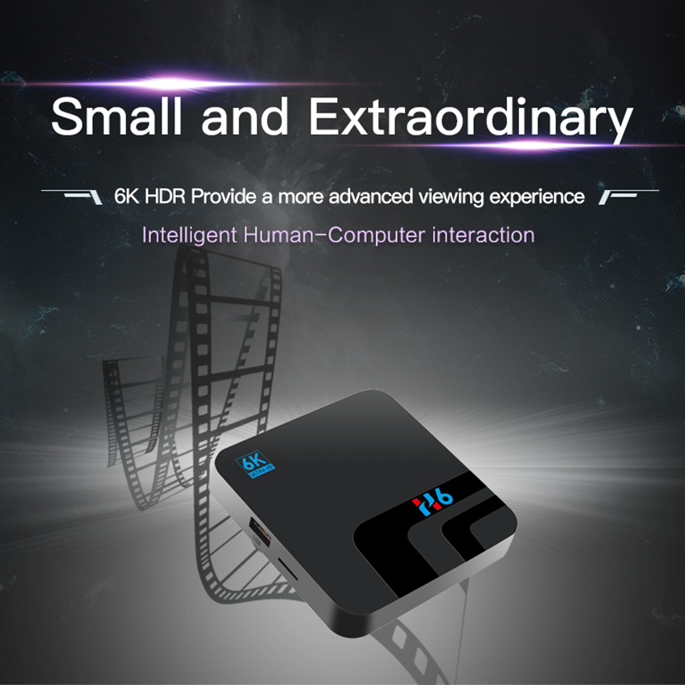 H6 Allwinner H6 Android9.0 4G / 32G 6K HDR TV BOX - image 88888 on https://smartmall.hr