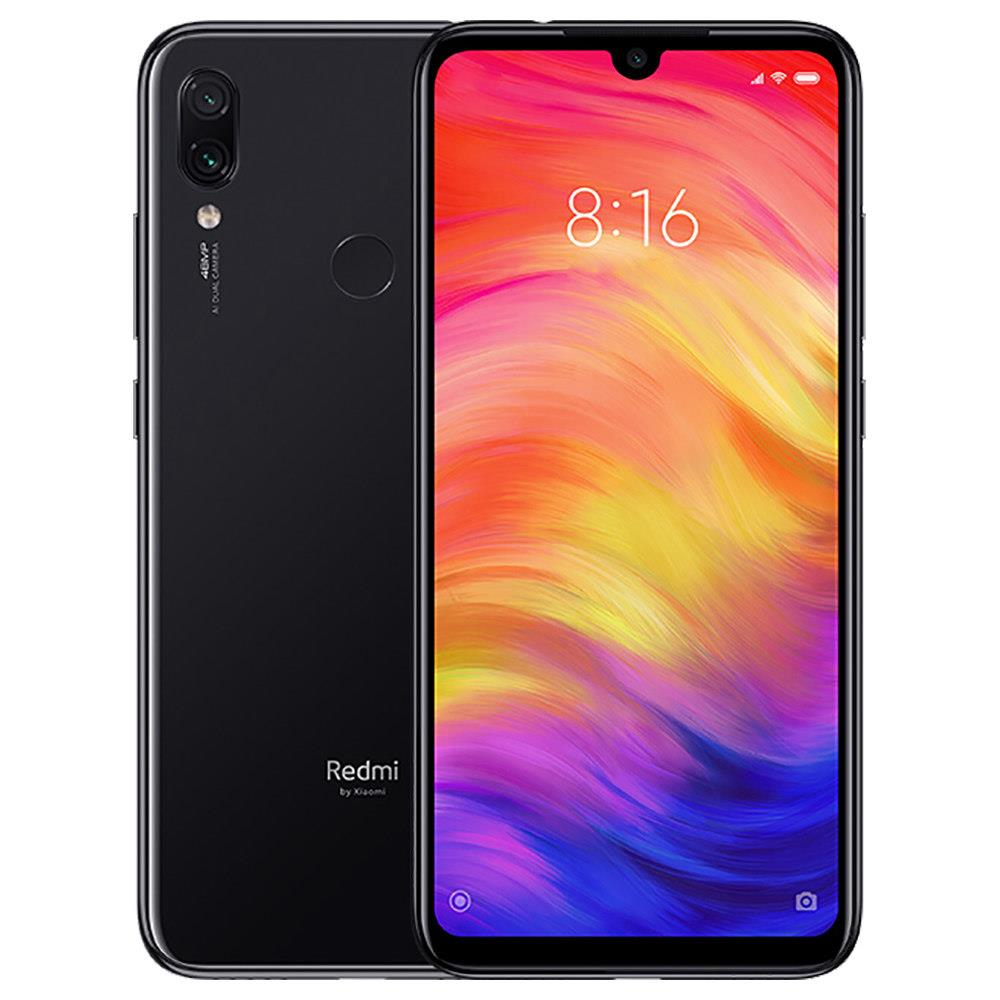 Xiaomi Redmi Note 7 6,3 inčni 4G LTE Smartphone Snapdragon 660 4GB 64GB 48.0MP + 5.0MP Dual AI fotoaparati MIUI 10 Type-C Brzo punjenje IR daljinski upravljač Global Version - crna - image Global-Version-Xiaomi-Redmi-Note-7-6-3-Inch-4GB-64GB-Black-839017- on https://smartmall.hr