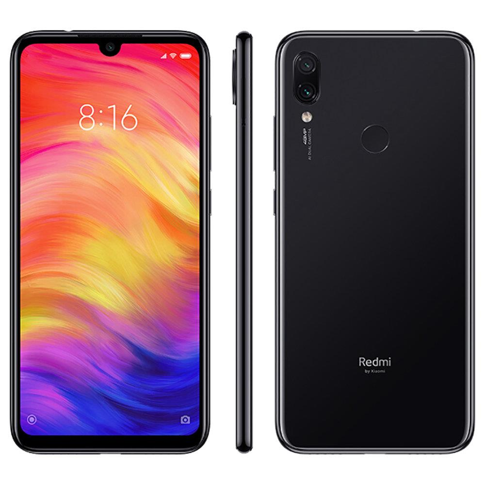 Xiaomi Redmi Note 7 6,3 inčni 4G LTE Smartphone Snapdragon 660 4GB 64GB 48.0MP + 5.0MP Dual AI fotoaparati MIUI 10 Type-C Brzo punjenje IR daljinski upravljač Global Version - crna - image Global-Version-Xiaomi-Redmi-Note-7-6-3-Inch-4GB-64GB-Black-839018- on https://smartmall.hr