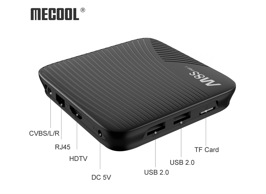 MECOOL M8S PRO L YouTube 4K Netflix HD Streaming 3GB / 32GB Android KODI 17.3 TV BOX WIFI Bluetooth LAN HDMI - crna - image MECOOL-M8S-PRO-L-Android-7-1-S912-TV-Box-3GB-16GB-20171207180034991 on https://smartmall.hr