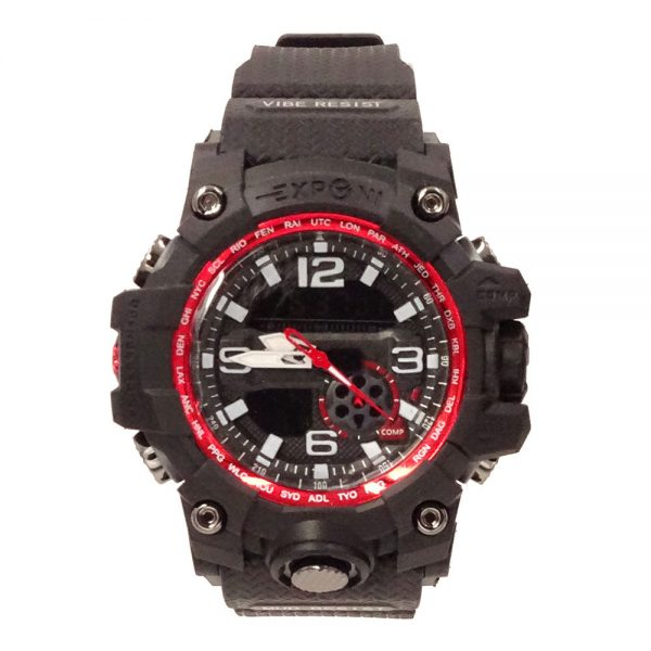 T5836 Muški sportski vodootporni vojni sat crna + crvena - image T5836-Men-Sports-Waterproof-Watch-Black-Red-839292-1-1-600x600 on https://smartmall.hr