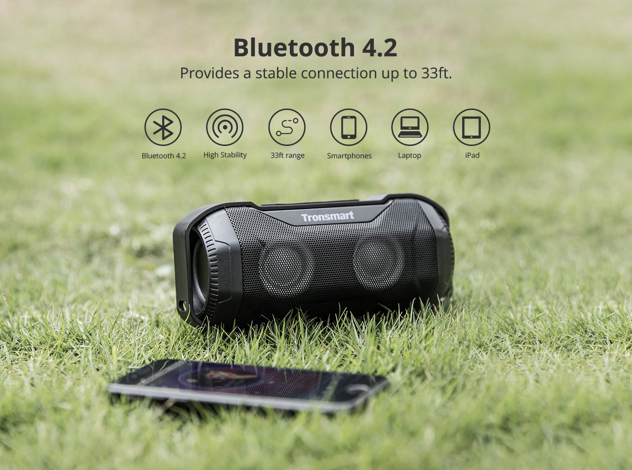 Tronsmart Element Blaze Bluetooth zvučnik IPX6 - image Tronsmart-Element-Blaze-10W-Bluetooth-Speaker-20190319115108901 on https://smartmall.hr