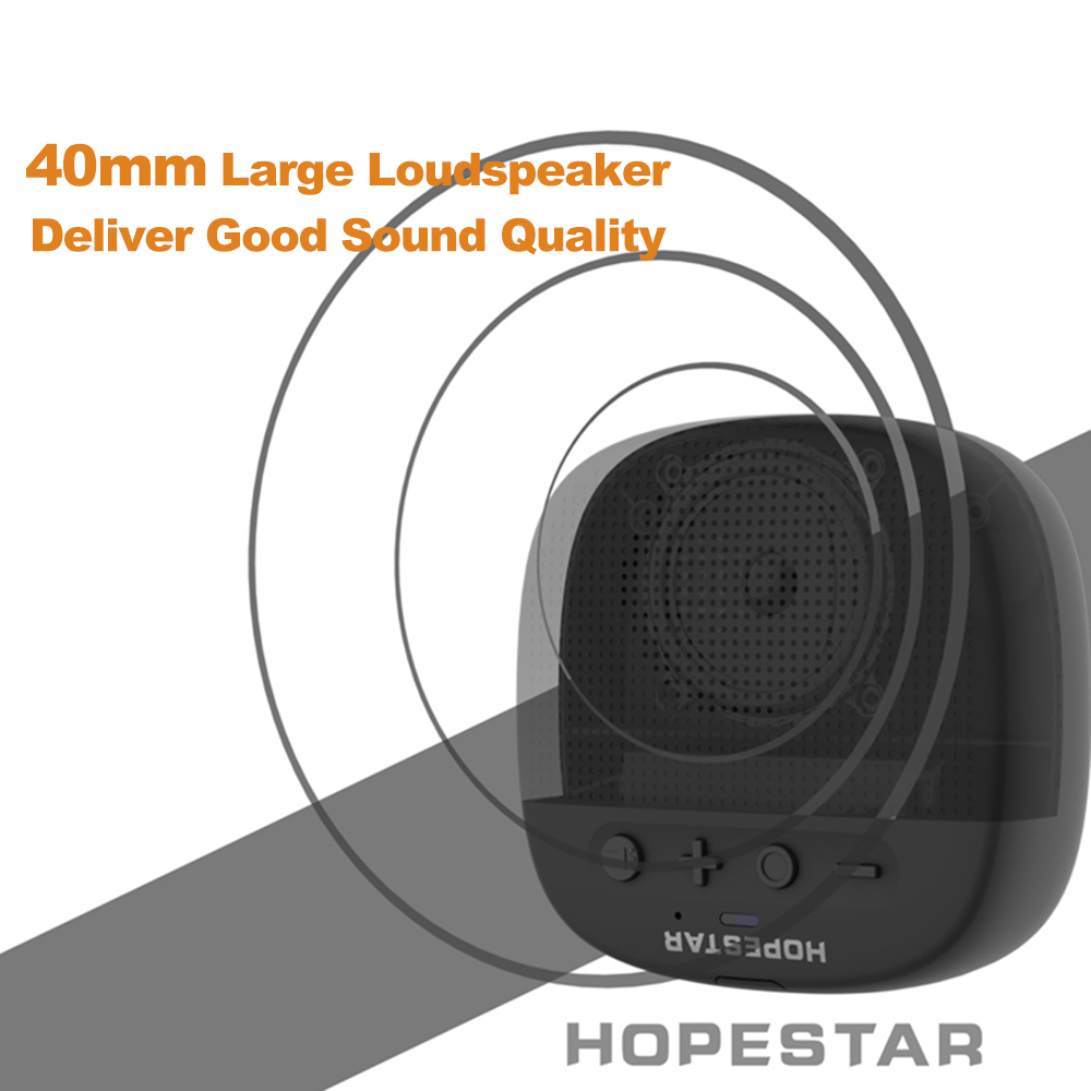 Prijenosni Bluetooth zvučnik - HOPESTAR P9 | LED svjetiljka za napajanje | crna boja - image geekbuying-HOPESTAR-P9-Outdoor-Bluetooth-Speaker-Black-Black-711780- on https://smartmall.hr